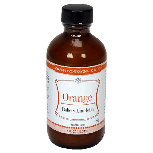 Buy LorAnn Bakery Emulsions, Orange Bakery Emulsion, 4-Ounce Bottles (Pack of 5) (LorAnn Oils, Health & Personal Care, Products, Food & Snacks, Baking Supplies)