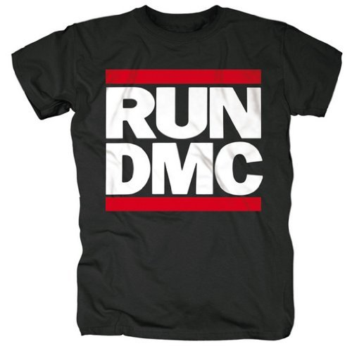 Run DMC T-Shirt - Classic Logo 100% Official