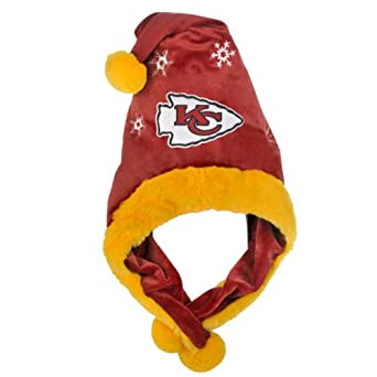 NFL Kansas City Chiefs Thematic Santa Hat by Forever Collectibles