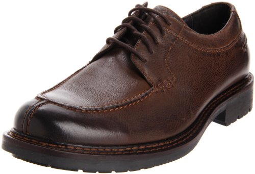 Johnston & Murphy Men's Watts Y Oxford,Brown Burnished Italian Calfskin,8.5 M US