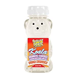 Nature Labs Koala Flavored Lubricant, Orange Creamsicle, 6 Ounce