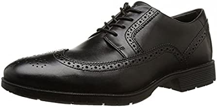 Rockport Total Motion Performance Stability Wing Tip, Men's Brogue