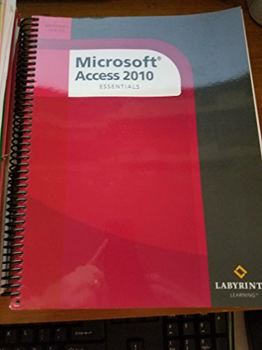 Microsoft Access 2010: Essentials