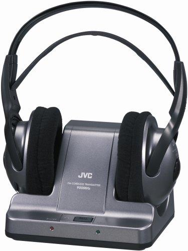 Jvc Haw600Rf 900Mhz Wireless Headphones - Black