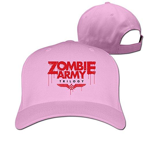 HNN Unisex Zombie Army Peaked Baseball Caps Hats