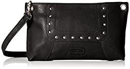 ellington Sally G Clutch, Gunmetal, One Size
