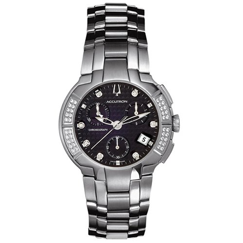 Accutron Men's 26E06 York Chronograph Diamond Watch