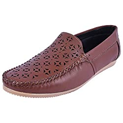 Andrew Scott Mens Tan Loafers