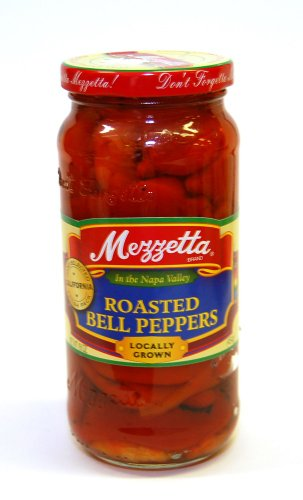Mezzetta Roasted Red Bell Peppers 16 oz.(Pack of 2) (Roasted Red Peppers In Water compare prices)
