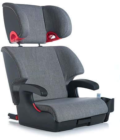 Clek Oobr Booster Car Seat - Thunder front-36182
