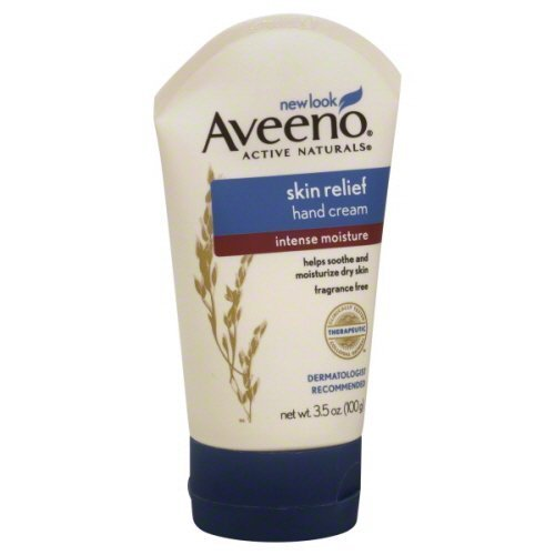 Aveeno Active Naturals Skin Relief Hand Cream, 3.5-Ounce Tub