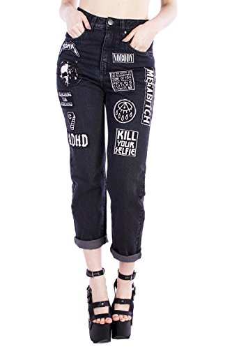 Disturbia Clothing -  Jeans  - Donna blu XX-Large