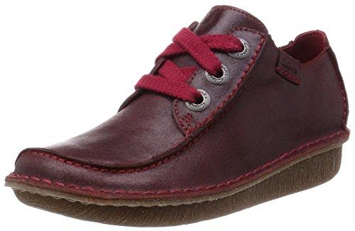 Clarks Funny Dream Ox-Blood Leather 4.5 UK D / 37.5 EU