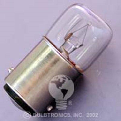 5W 24V Ba15D Flat Top Twist Pin Lamp Bulb