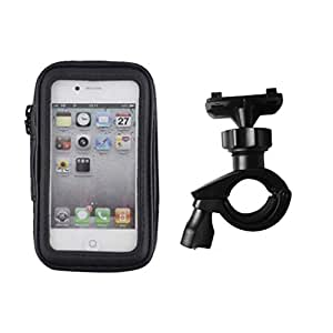 Waterproof Motorcycle/Bicycle Mount Brackets Phone Holder Stand for GPS 4.7inches iPhone Samsung HTC Huawei