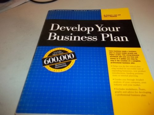 Develop Your Business Plan