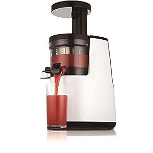[NEU] Hurom Slow Juicer HH 2. Generation weiß (HHWBE11), 40U/min Fruchtfleischhebel, Entsafter/SaftpresseRezension