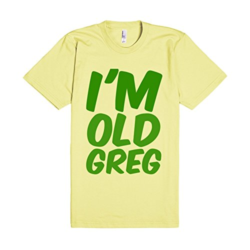 I'm Old Greg | L Lemon T-Shirt (Im Old Greg compare prices)