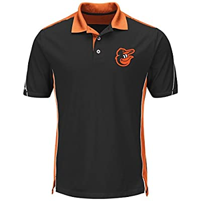 "Baltimore Orioles Majestic MLB ""To The 10th"" Men's Performance Polo Shirt"