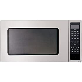 DCS MO24SS2 2.0 cuft Countertop Microwave Oven 1200 Watts, Carousel Turntable System and Easy Clean