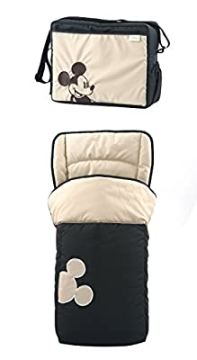 New Hauck Disney Classic Mickey mouse Shopper Pushchair Buggy Pram Shop n Drive Travel System+car seat+changing bag+cosytoes+raincover from Hauck