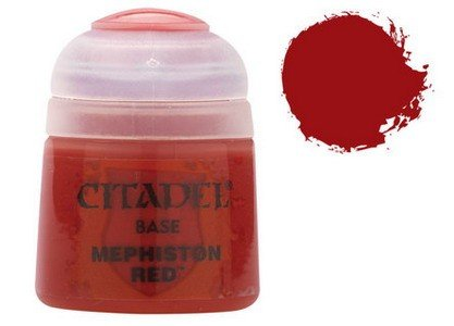 Citadel Base: Mephiston Red - 1