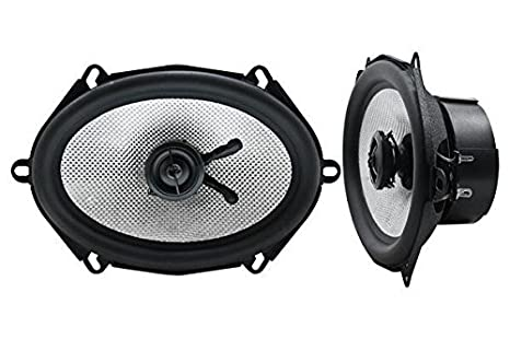 Earthquake 5 x 7 cm Effet Coaxial Tweeter orientable Long Excursion