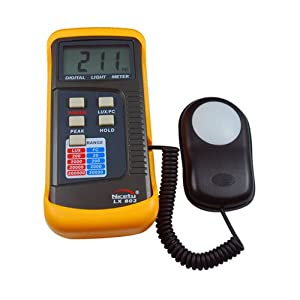 Professional Light Meter LX802 for Hydroponics, Greenhouse, Gardening, Architecture, Lighting
