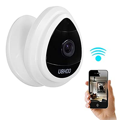 Security Mini IP Camera, UOKOO 1280x720p Home Surveillance Camera Wireless IP Camera With Built In Microphone WiFi Security Camera, Motion Detection