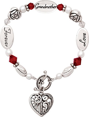Love Grandmother Forever Expressively Yours Bracelet Gift Boxed