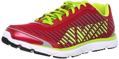 AVIA  Men's Avi-Mantis Running Shoe,Red Flag/Elite Lime/Ash Grey,9 M US