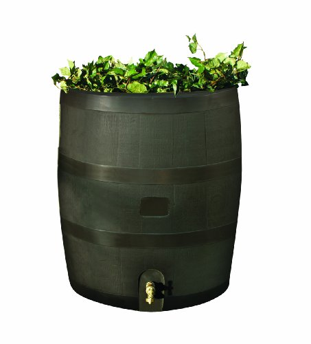 RTS-Home-Accents-Round-35-Gallon-Rain-Barrel-with-Brass-Spigot-and-Built-In-Planter-Mud