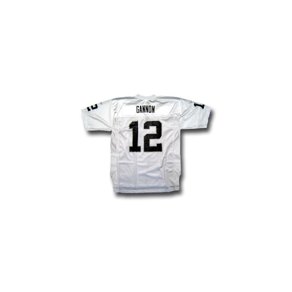 769e75d3f7e Rich Gannon #12 Oakland Raiders NFL Replica Player Jersey By Reebok (White)