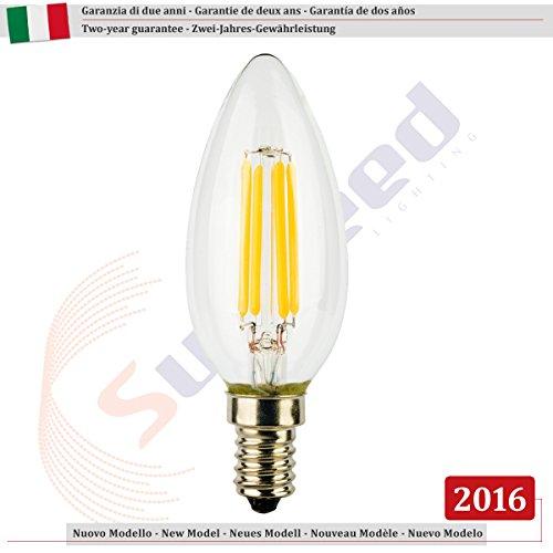 Sunseed garanzia italiana 24 mesi e14 4w lampadina led for Lampadine led economiche