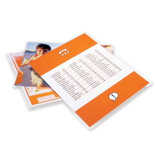 GBC HeatSeal UltraClear Thermal Laminating Speed Pouches, Letter Size, 3 mm Thickness, 11.5 x 9 Inches, Clear, 100 Pouches per Pack (3200586)