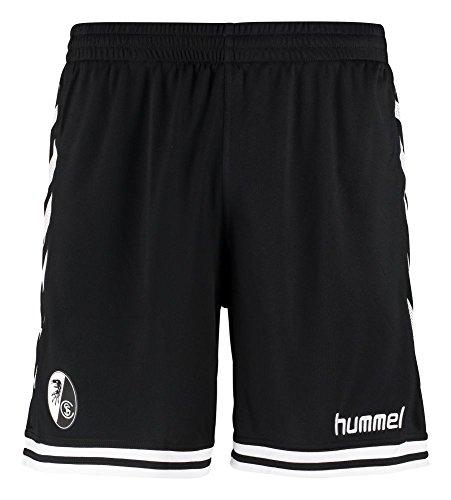 Pantaloni sportivi Hummel-SC Freiburg calcio 20162017poliestere bianco e nero bambini, 164-176