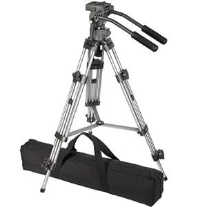 Ravelli AVTP Professional 75mm Video Camera Tripod with Fluid Drag Head