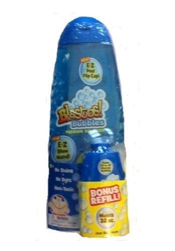 Blastos! Bubbles 32oz with Additional 32oz Bonus Pack by Little Kids - 1