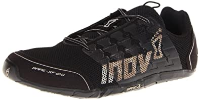 Inov-8 Bare-XF 210 Shoe,Black/Grey, 5 M US Men/6.5 M US Women