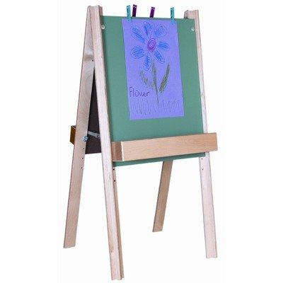 Wood Designs Deluxe Chalkboard Childrens Easel