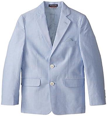 Tommy Hilfiger Big Boys' Yarn Dye Oxford Blazer