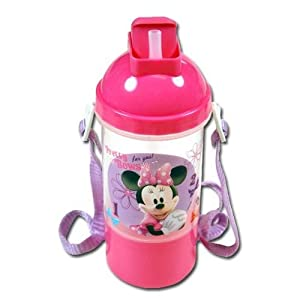 "Zak Disney Minnie Mouse ""Pretty Bows"" Pink Rock N Sip N Snack Canteen from Zak Designs"