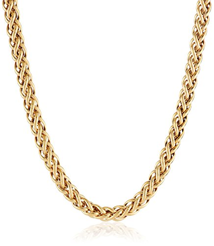 14k-gold-bonded-sterling-silver-two-tone-spiga-chain-necklace-17