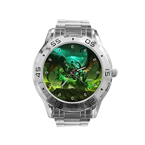 WoW Legion Illidan Stainless Steel Watch
