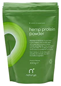Naturya Organic Hemp Protein Powder 300 g Nutritional Power Food Pouch
