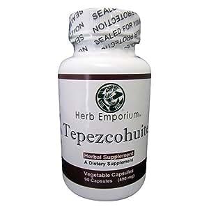 Tepezcohuite Capsules / Capsulas de Tepezcohuite 90ct.