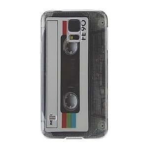 Retro Tape Pattern Back Case for Samsung S5/i9600