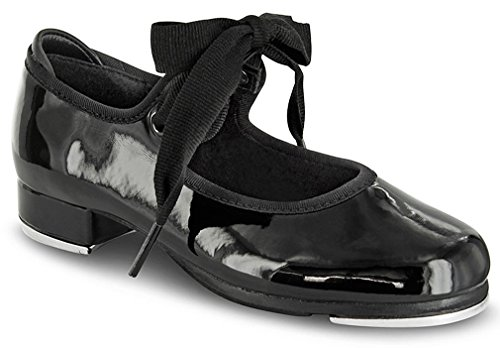 Bloch Women'S Annie Tyette Tap Black Dance Pumps 5 M front-853845