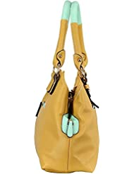 Lavie Oliva 1 3C Med Hobo Yellow Handbag
