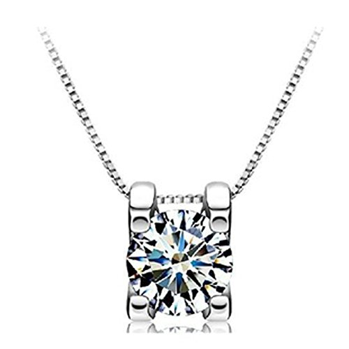 lily-jewellery-classical-sterling-silver-necklace-with-square-cvd-diamond-pendent-necklace-for-women